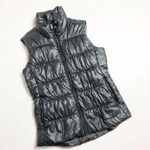 Patagonia Down Puffer Vest Black Shinny Medium